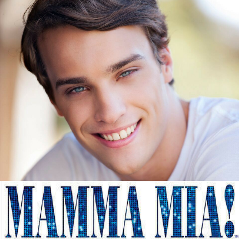 ZACHARY WEBSTER announced in cast for MAMMA MIA!