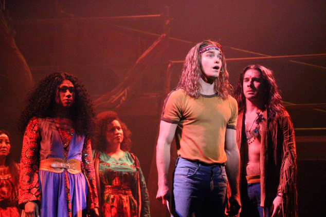 """OUT IN PERTH ★ ★ ★ ★ ½  """"The musical 'Hair' packs a mighty punch, fifty years after its debut"""""""