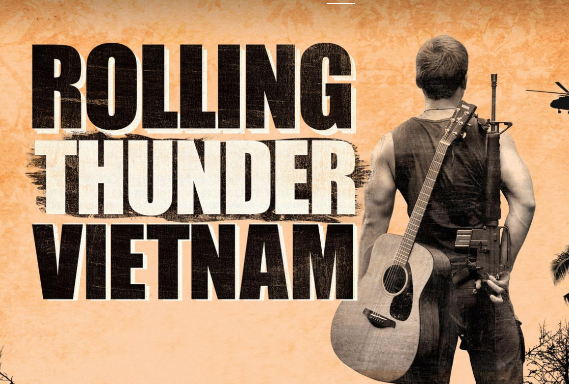 "Broadway World ""ROLLING THUNDER VIETNAM is Back By Popular Demand In 2020"""