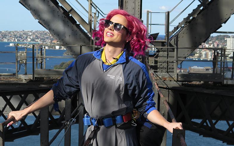 """Gaytimes """"Courtney Act to make history at Sydney's Mardi Gras 2020 celebrations"""""""