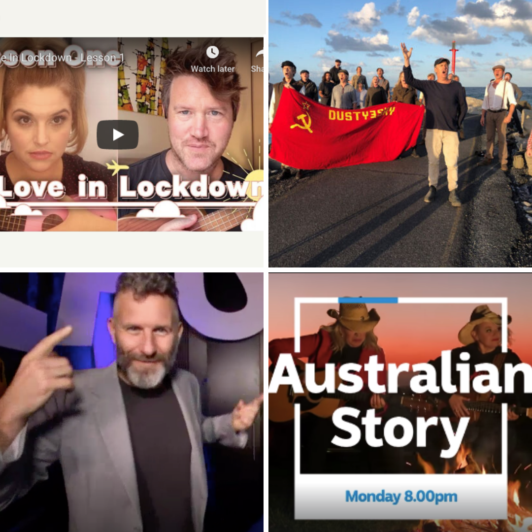 """ABC Australian Story  """"PERFORMERS AND THE PANDEMIC"""""""