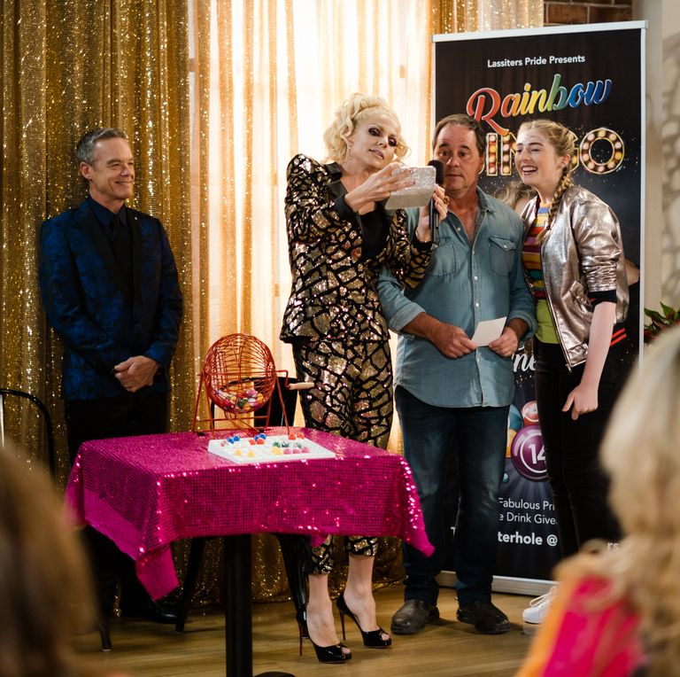 """Digital Spy """" Courtney Act explains how her Neighbours role came about"""""""