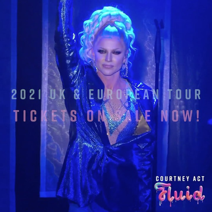 """AussieVision """"Courtney Act releases her new EP 'Drop of Fluid'"""""""